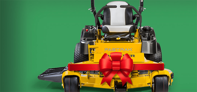 All I want for Christmas is a New Lawn Mower